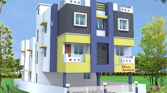 BAIRAVI APARTMENTS, Chennai - 2 BHK Flats