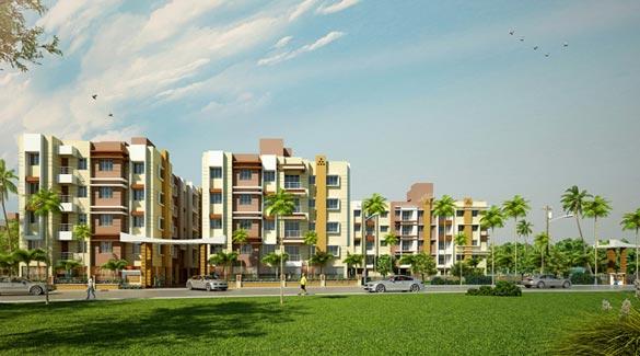 Balaji Crimson, Kolkata - Residential Apartments
