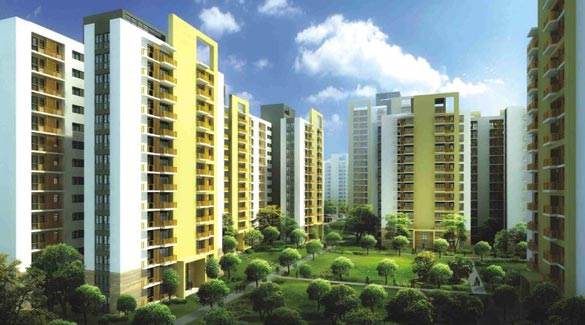 Unitech Uniworld Garden II, Gurgaon - 1, 2, 3 & 4 BHK Apartments