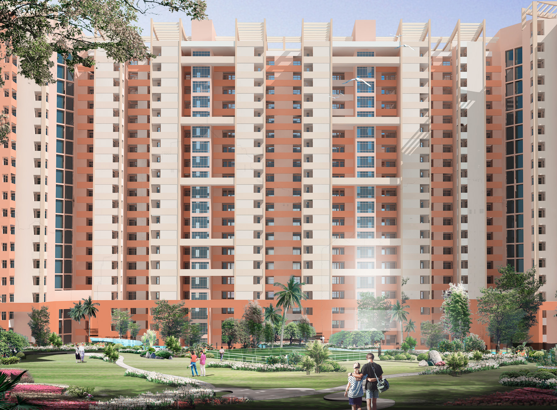 Divine Meadows, Noida - Residential Towers