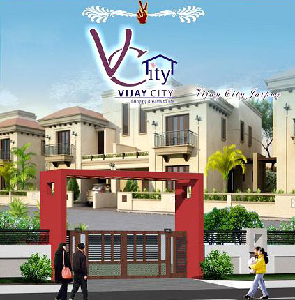 Vijay City, Jaipur - Residential Plots