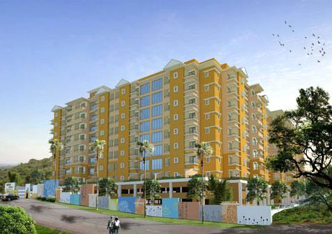 Akar Heights, Goa - Designer Apartments