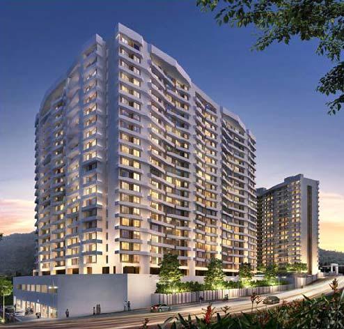 Kalpataru Hills, Thane - 1, 2 & 3 BHK Apartments