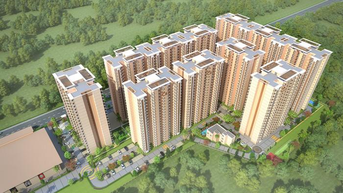 HAMPTON HOMES, Ludhiana - 1/2/3 BHK Apartments