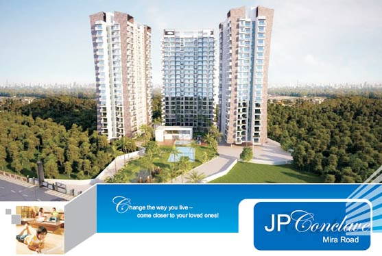 JP Conclave, Thane - 1 BHK, 1.5 BHK & 2 BHK Apartments