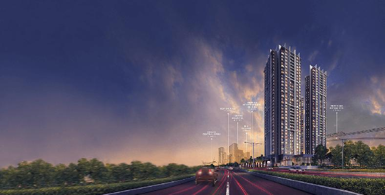 Kalpataru Paramount, Thane - 2 BHK Apartments