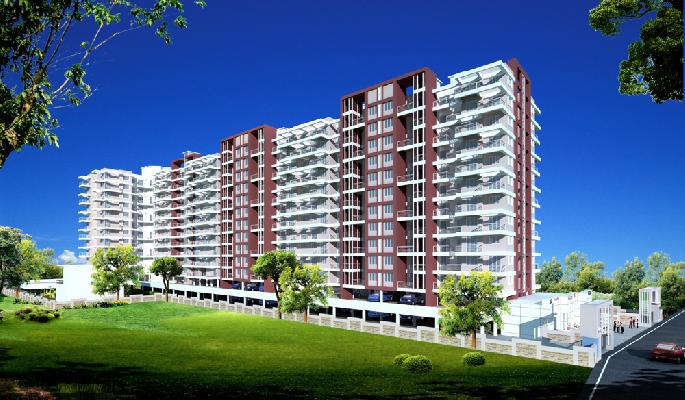 Utsav Homes@Bhoasri, Pune - 1BHK & 2BHK Apartments