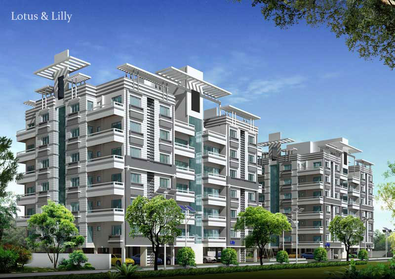 Lotus & Lilly, Raipur - 3 BHK Residential Apartments
