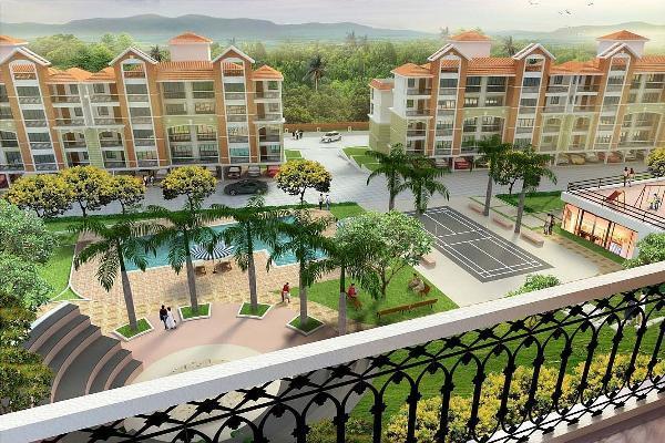 Devashri Greens, Goa - 2 & 3 BHK Apartments