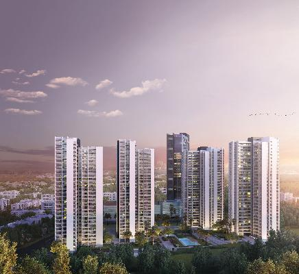 Solitaire World, Pune - 3 BHK Residential Apartments