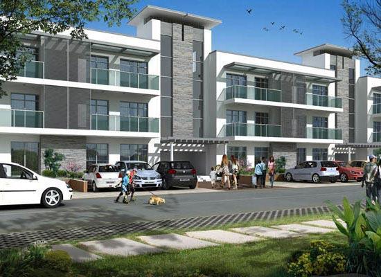 OMAXE Chandigarh Extension, Chandigarh - 3 BHK Independent Floor