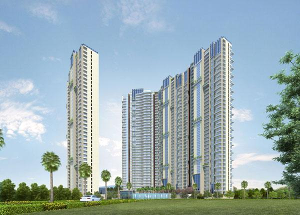 Water Edge, Bangalore - 3 & 4 Bedroom Apartments