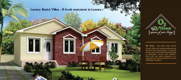 O2 Villas, Jaipur - Residential Resort