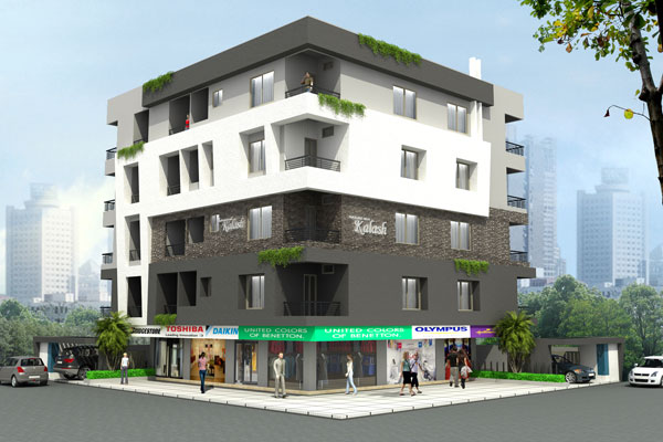 Navjeevan Kalash, Akola - Residential Apartments