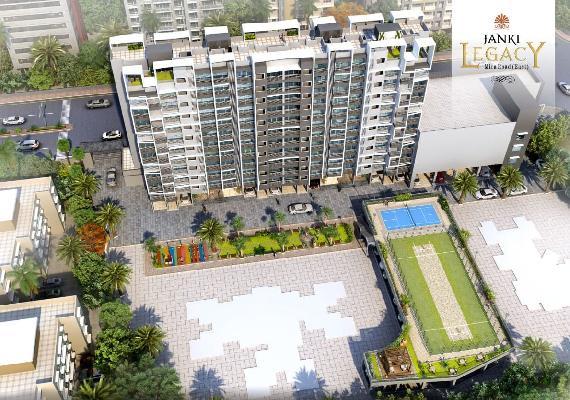 Janki Legacy, Mumbai - 1BHK & 2BHK Apartment