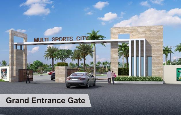 Multi Sports City, Raipur - Residential Plot