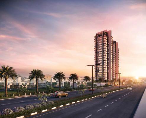 Upper East 97, Mumbai - 1/2/3 BHK Apartments