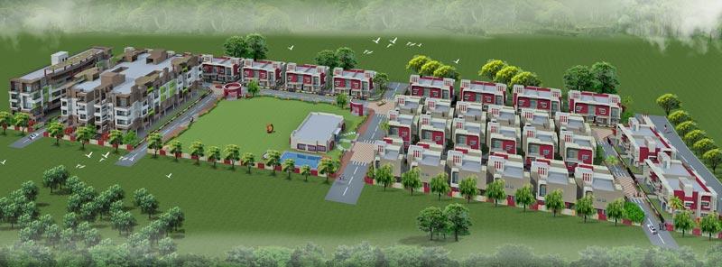 Gangwani Gardens Bhilgaon, Nagpur - Twin & Independent Villas & Apartments