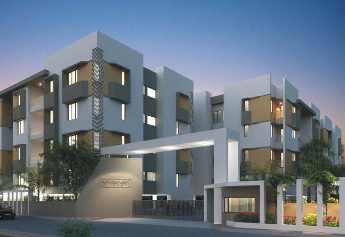 Shreenath Classic, Vadodara - 2 BHK & 3 BHK Apartments
