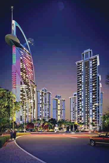 The Jewel of Noida, Noida - 3/4/5 BHK Apartments