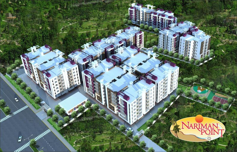 Nariman Point, Indore - 1/2/3 BHK Apartments