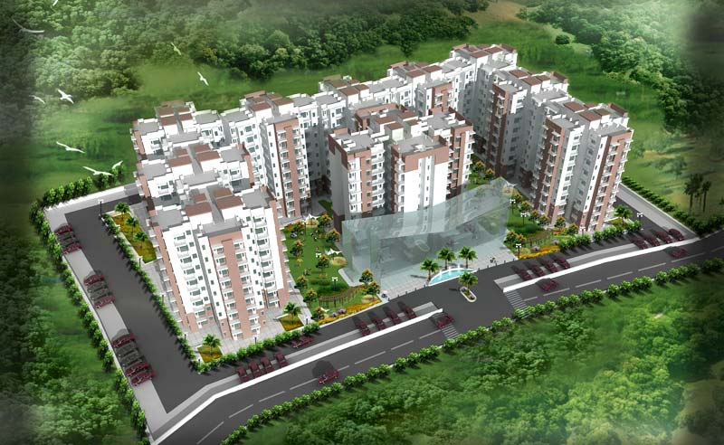 Amrante Heights, Bhiwadi - 1/2 BHK Apartments