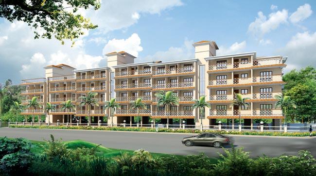 Darius Paradise, Goa - Residential Apartments