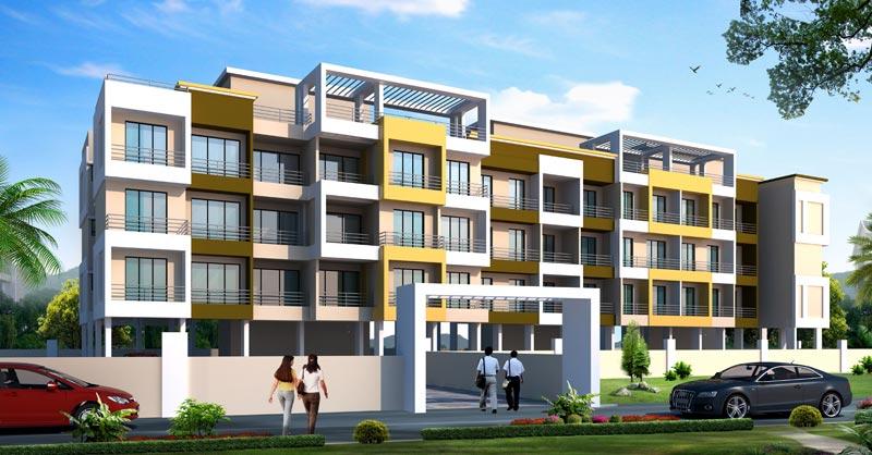 Harmony Hill View, Navi Mumbai - Residential Apartments