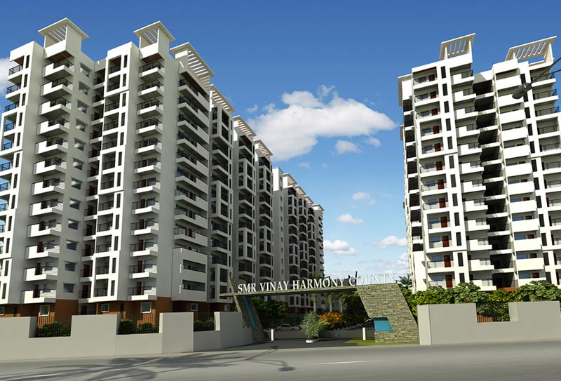 SMR Vinay Harmony County, Hyderabad - Residential Apartments
