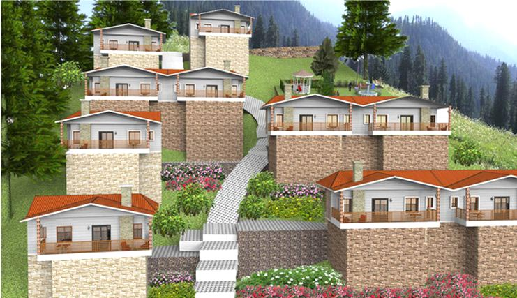 Blossom Valley Cottage, Nainital - Residential Apartments