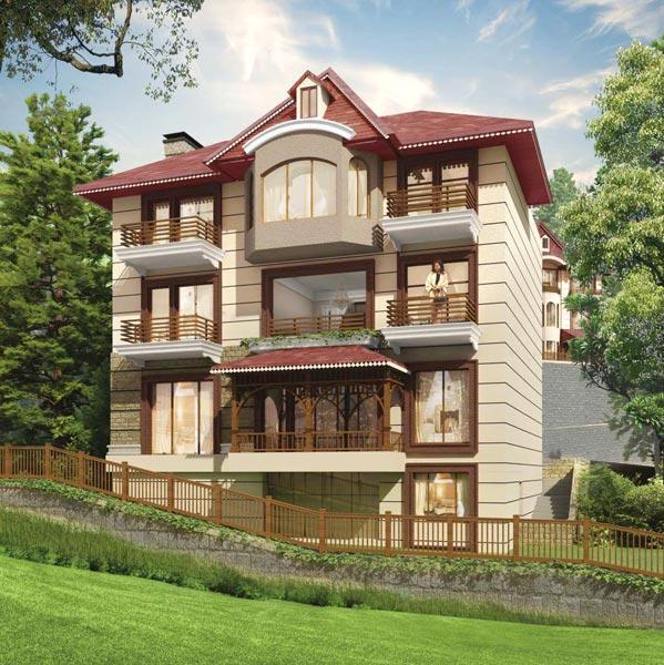 Sanawar Hills, Solan - 3/4/5 BHK Luxury Cottages