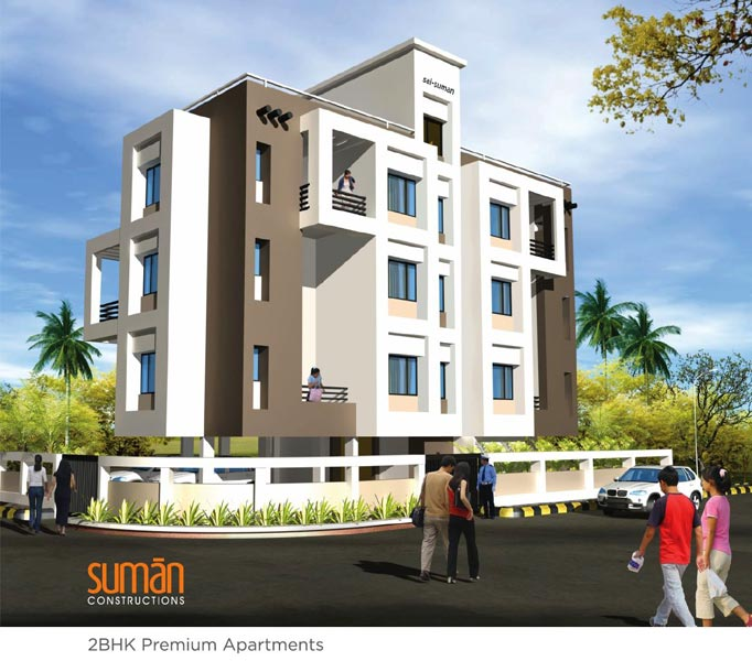 Sai Suman, Nagpur - 2 BHK Apartments