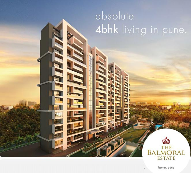 The Balmoral Estate, Pune - 4 BHK & Family Lounge