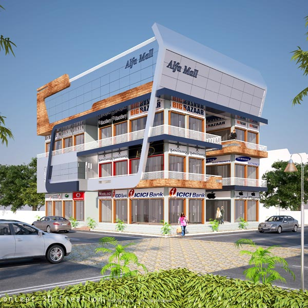 Alfa Mega Mall, Botad - Commercial Mega Mall