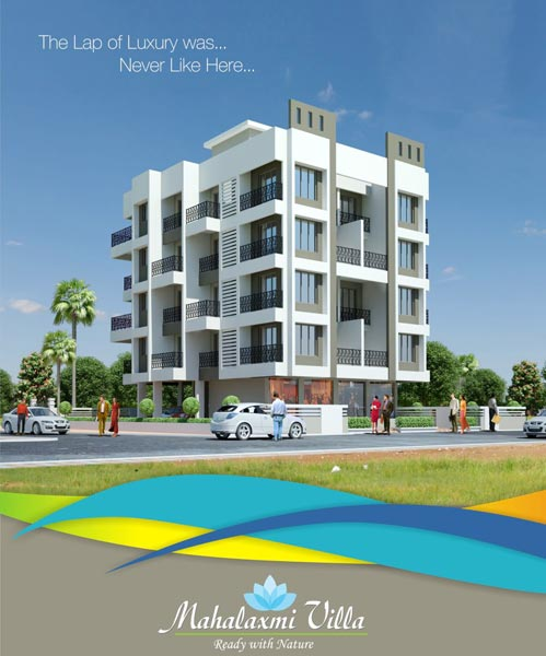 Mahalaxmi Villa, Thane - Shops & Luxurious Apartments