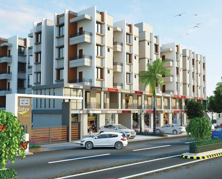 Satva Gokul I, Ahmedabad - Luxurious Flats