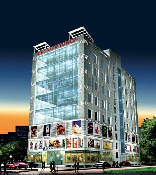 Sky View Tower, Bhiwadi - Mall Cum Office Complex