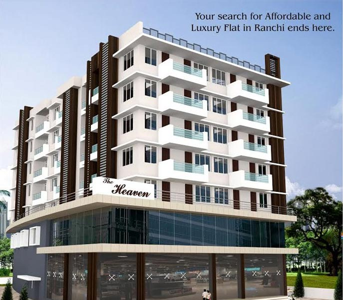 The Heaven, Ranchi - 3 BHK Commercial & Residential Complex