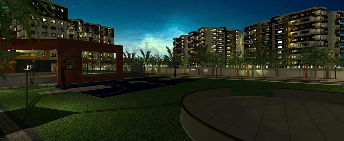 Diamond City, Ranchi - 2/3 BHK Flats