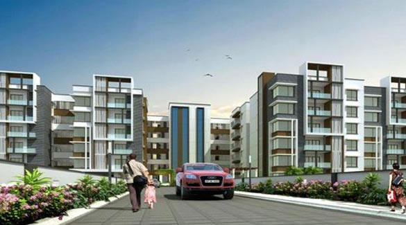 Blue Birds Habitat, Hyderabad - Luxurious Apartments
