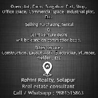 1 BHK Flat for Rent in Solapur