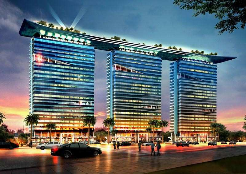 500 Sq. Feet Office Space for Sale in Sector 90, Noida - 5 Acre