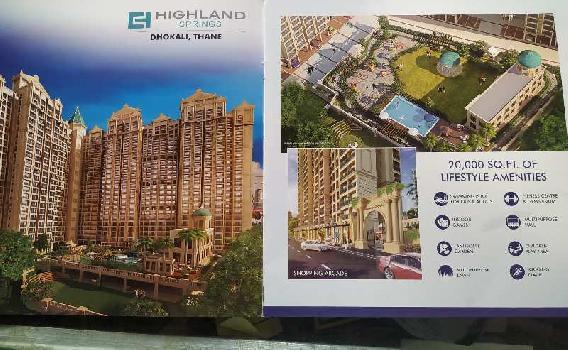 2 BHK 975 Sq.ft. Residential Apartment for Sale in Kolshet Road, Thane
