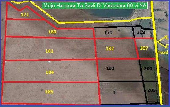 2048000 Sq.ft. Commercial Land for Sale in Savli Town, Vadodara