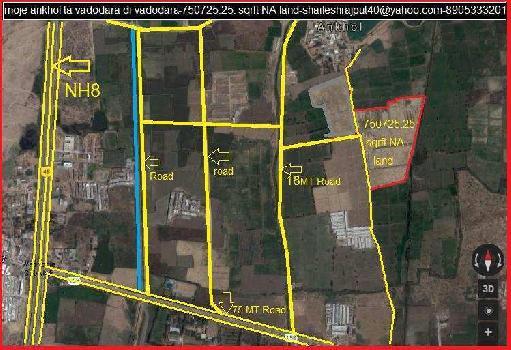 750725 Sq.ft. Residential Plot for Sale in Ankhol, Vadodara