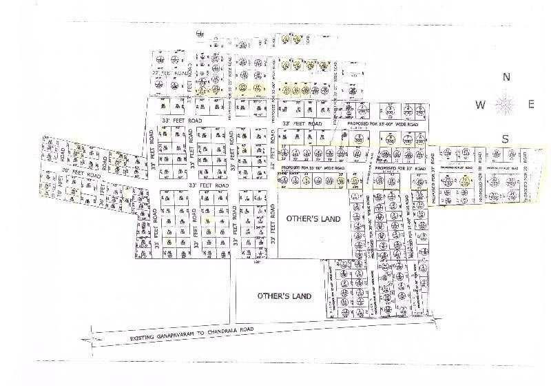Residential Plot for Sale in Vijayawada - 900 Sq. Feet