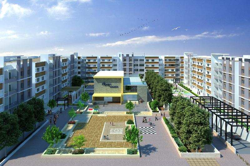 3 BHK Flats & Apartments for Sale in Electronic City, Bangalore South - 4.5 Ares