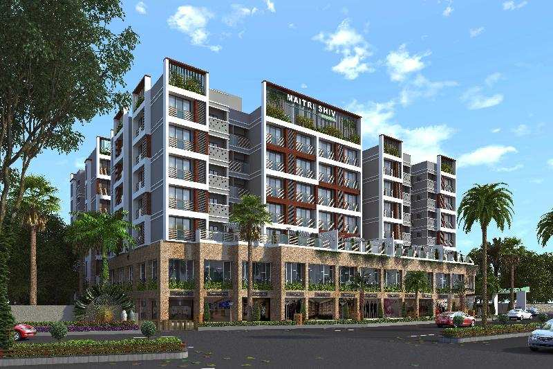 3 BHK Flats & Apartments for Sale in Motera, Ahmedabad - 4997 Sq. Meter