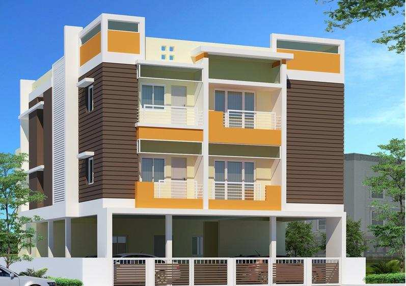 3 BHK Flats & Apartments for Sale in Visakhapatnam - 1285 Sq.ft.