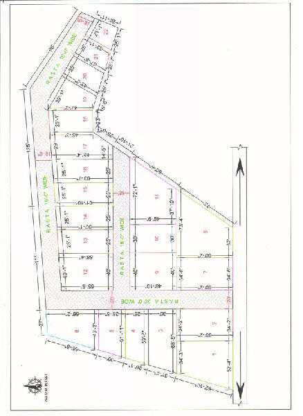 Residential Plot for Sale in Ghazipur - 2666 Sq. Feet